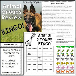https://www.teacherspayteachers.com/Product/Animals-Groups-Review-Bingo-1342570