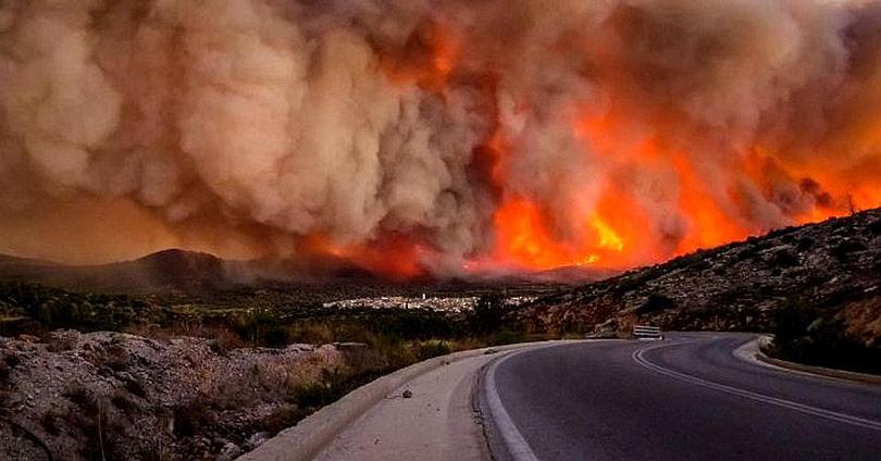 Η ΜΙΤ, η Φωτιά στο Μάτι και οι 8 Τούρκοι Στρατιωτικοί