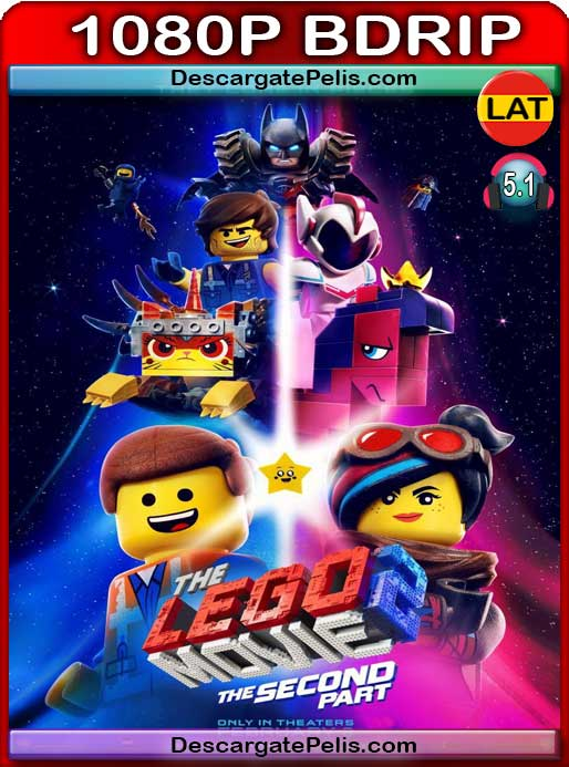 La gran aventura LEGO 2 (2019) 1080P BDrip  Latino – Ingles