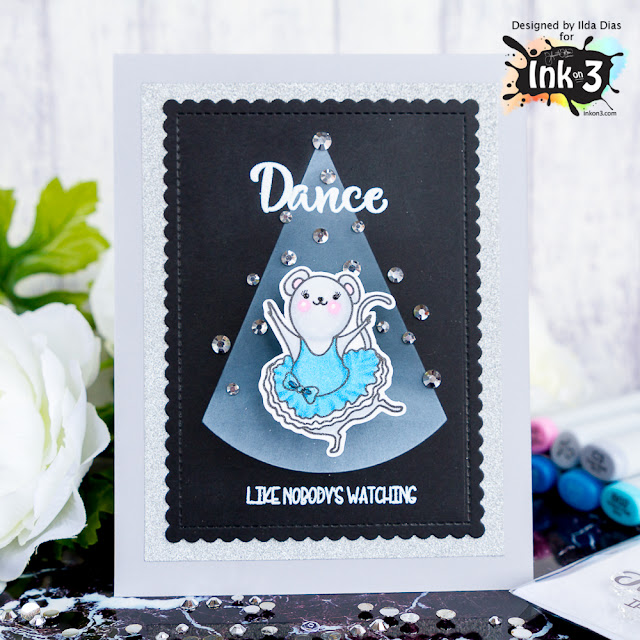Dance and Twirl Blog Hop | Ink On 3 New Release | Giveaway by ilovedoingallthingscrafty.com