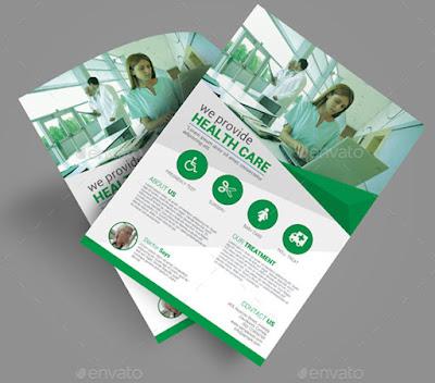 flyer template, medical flyer, health care flyer, hospital flyer, dental flyer, doctor flyer