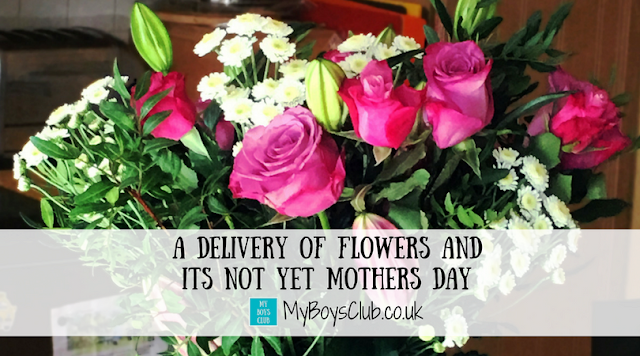 A Delivery of Flowers and its not yet Mothers Day. We test out the 24 hour delivery service from Prestige Flowers.