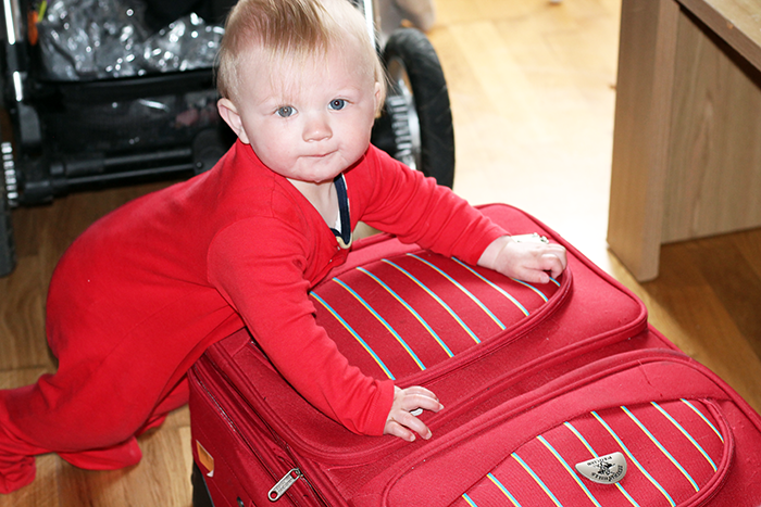 Prepping for travel with littles