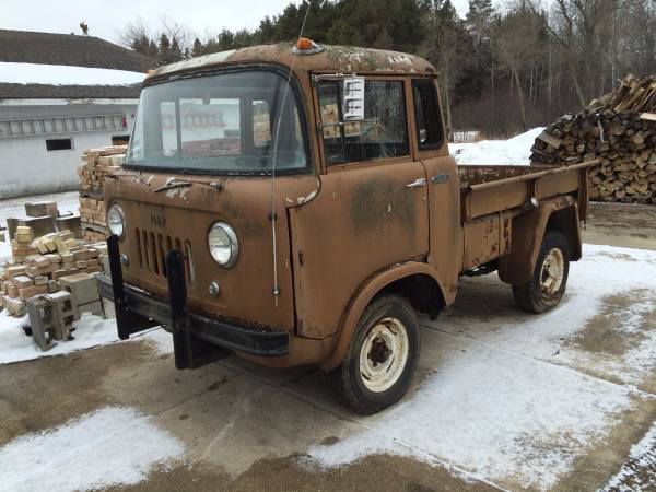 1960 jeep fc150 4x4 truck project for sale 4x4 cars. Black Bedroom Furniture Sets. Home Design Ideas