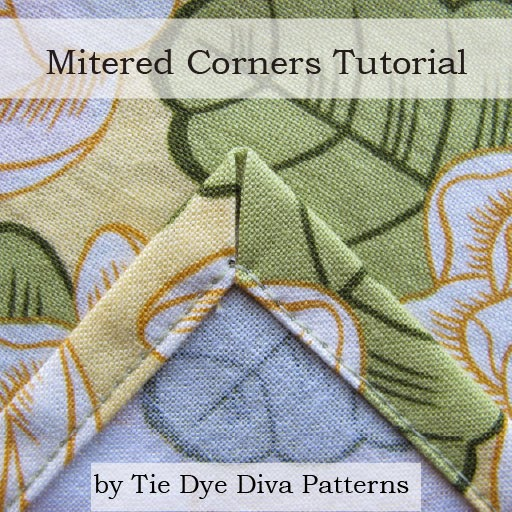Tie Dye Diva Patterns: Hip To Be Square