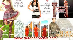 12 Vestidos para Tejer al Crochet / Colección