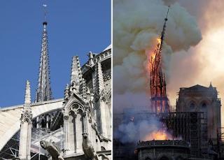 Παναγία των Παρισίων, θλίψη: Πώς είναι μέσα η εκκλησία μετά την πυρκαγιά. Αγνώριστη  (photos)