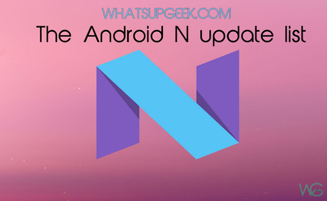 List of smart phones that will receive Android Nutella update