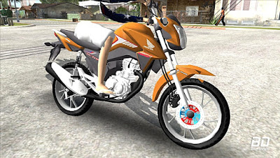 Download mod moto GTA SA - Honda Titan 160 2018