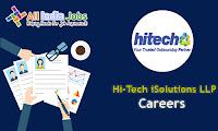 Hi-Tech iSolutions LLP Recruitment