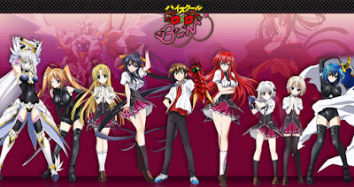 Download HighSchool DxD BorN season 3 episode 1-12 End subtitle indonesia