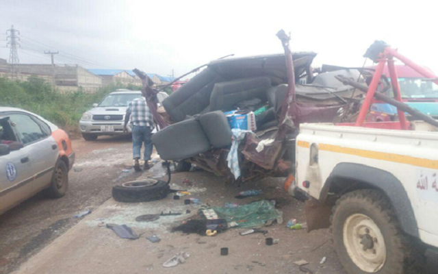 Accident causes traffic on Tema motorway