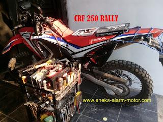 Cara pasang alarm motor Honda CRF 250 Rally