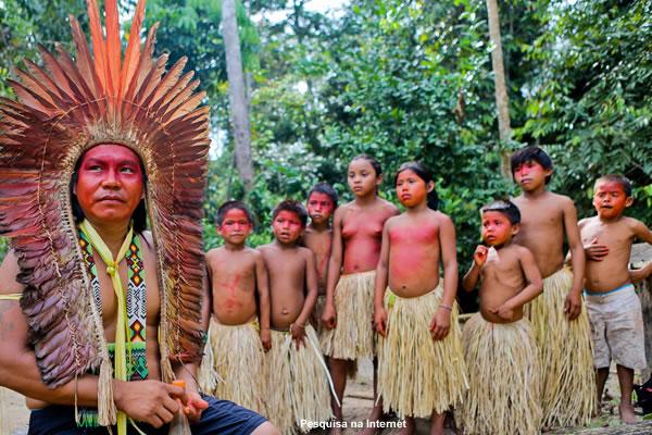 Resultado de imagem para comunidade indigena pajé
