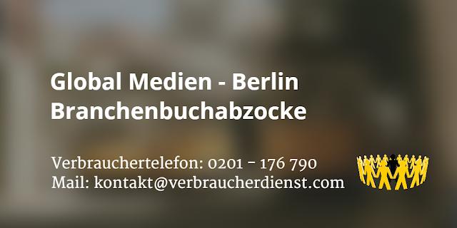Global Medien | Berlin | Branchenbuchabzocke