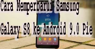 Cara Memperbarui Samsung Galaxy S8 ke Android 9.0 Pie