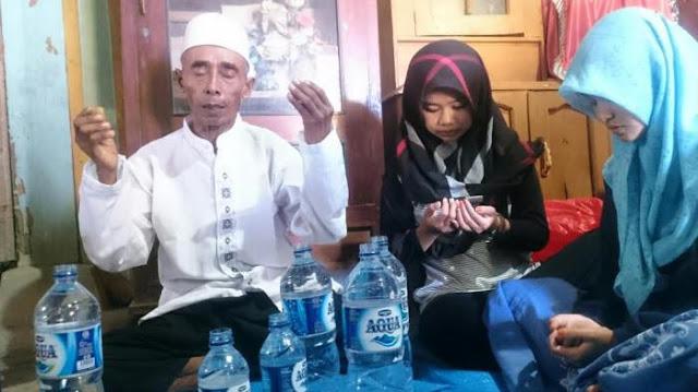 Ini Sosok Kasrin, Kakek yang Berangkat Haji Secara Misterius Sudah Pulang, Penuturanya Bikin Semua Orang Melongo