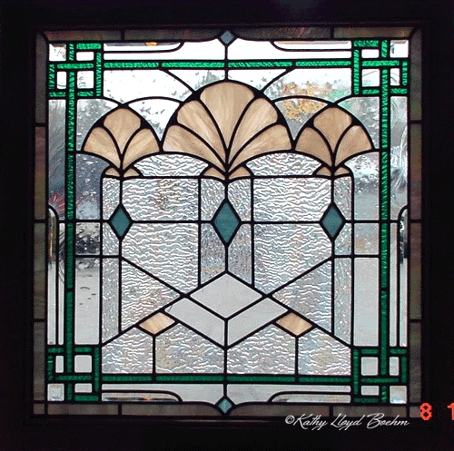 Boehm Stained Glass Blog: Art Deco stained glass window