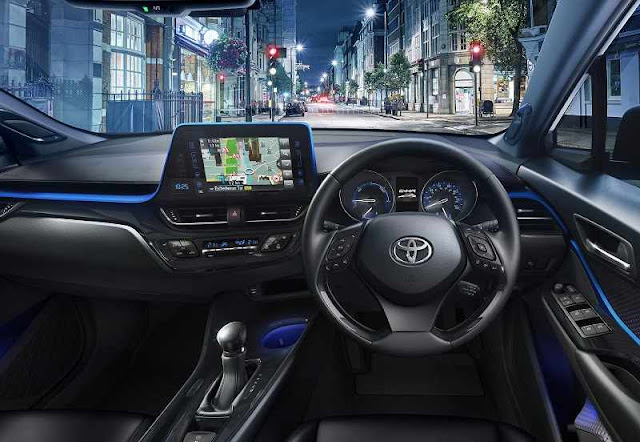 Toyota CHR Interiors