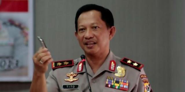 Kapolri Tito: Khilafah HTI bertentangan dengan Pancasila