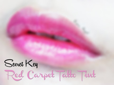 Review Secret Key Red Carpet Tatto Tint - Attractive Purple