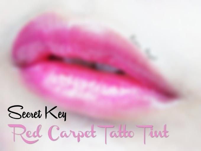 Review Secret Key Red Carpet Tatto Tint - Attractive Purple