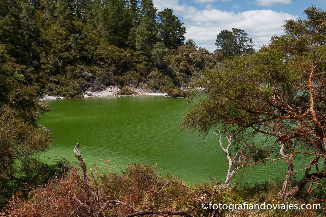 Wai O Tapu Thermal Wonderland, Rotorua, Nueva Zelanda
