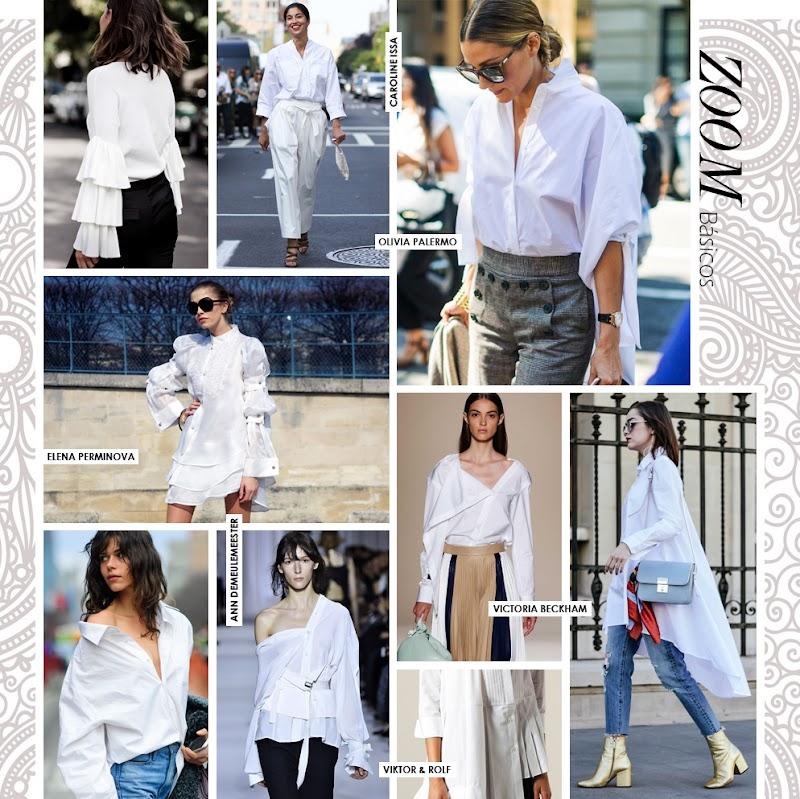 Las 1001 versiones de la clásica camisa blanca