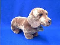 russ berrier red dachshund plush stuffed animal classic