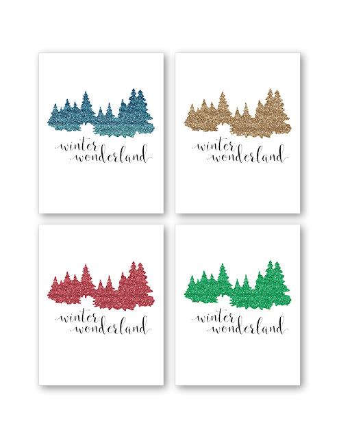 Don't Panic Design Free Printable Art Christmas Art Winter Art Home Decoration Winter Wonderland
