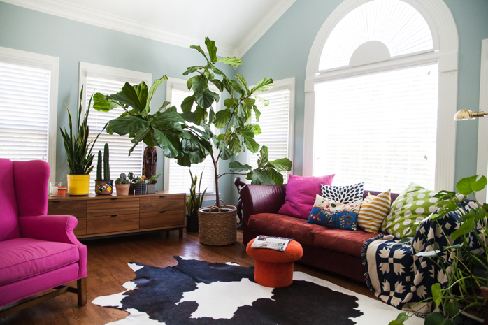 That Fiddle Leaf Fig is stealing the show- #plants- design addict mom