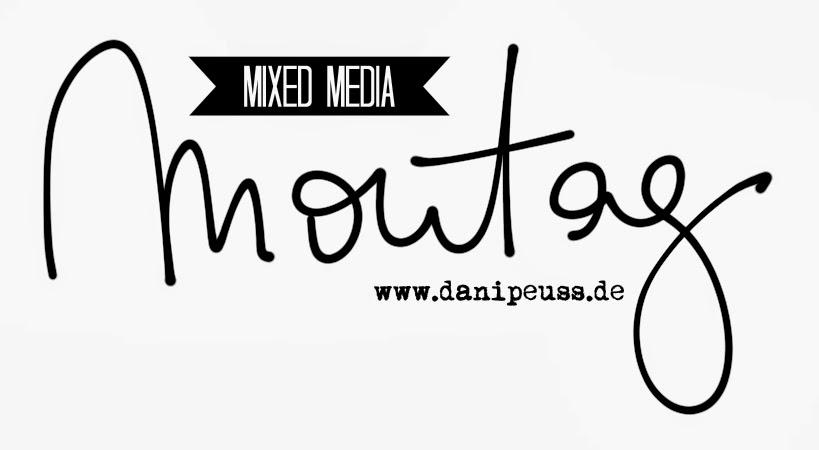 Komplimente Karten Mixed Media Anleitung von Wiebke Hahn für www.danipeuss.de