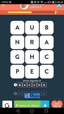 WordBrain 2 soluzioni: Categoria Frutta (3X4) Livello 3