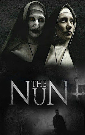 Poster Of The Nun In Dual Audio Hindi English 300MB Compressed Small Size Pc Movie Free Download Only At worldfree4u.com