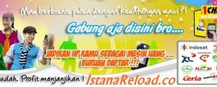 Istana Reload Server Pulsa All Operator dan PPOB