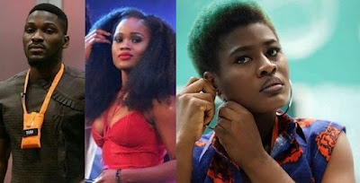 #BBNaija: Alex tells Tobi and Cee-C that their fights are becoming boring and exhausting..