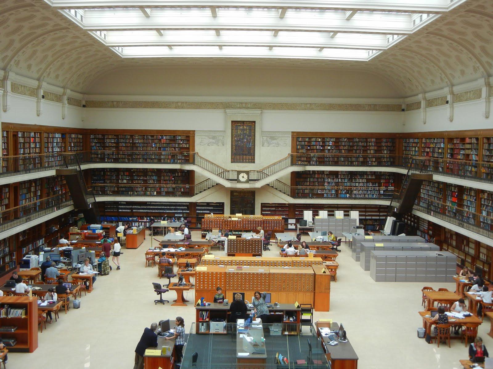 Sydney Australia Mitchell Library Reading Room