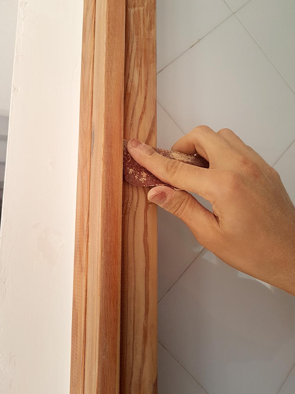 Como lijar una puerta puertas que se atrancan with como for Como arreglar una puerta de madera