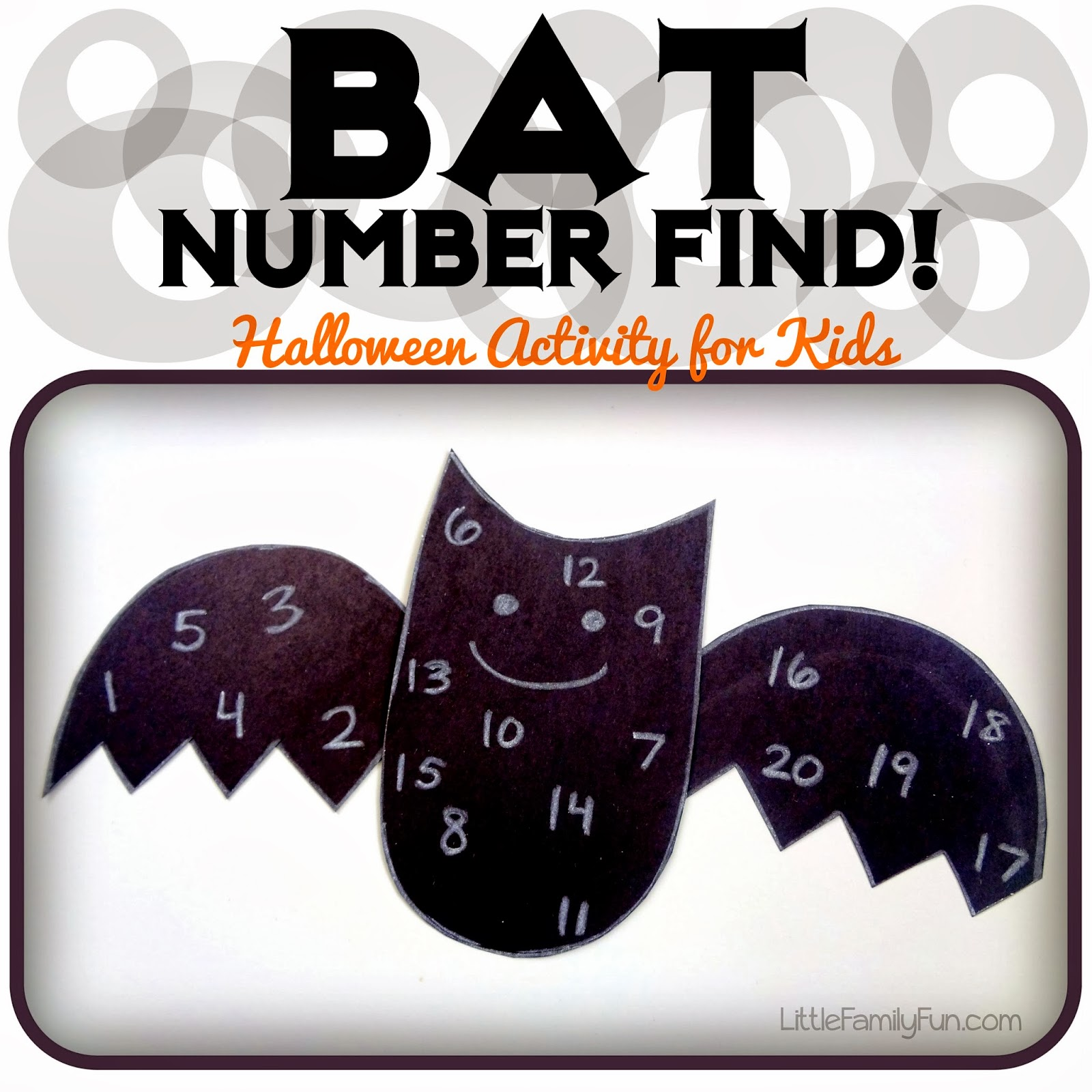 Little Family Fun Bat Number Find