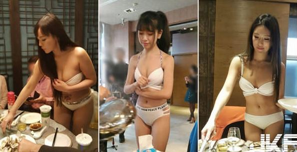 Netizens Went Crazy with This New Hot Pot Restaurant in Taiwan Where Waitresses Serve Food in Their Bikinis! Crazy!