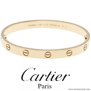 Meghan Markle Cartier Love Yellow Gold Bracelet