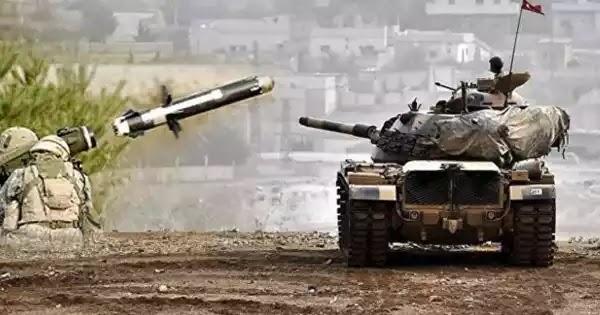 Βίντεο: Κούρδοι πλήττουν με Α/Τ πυραύλους τουρκικά άρματα μάχης - Συνεχίζονται οι συγκρούσεις