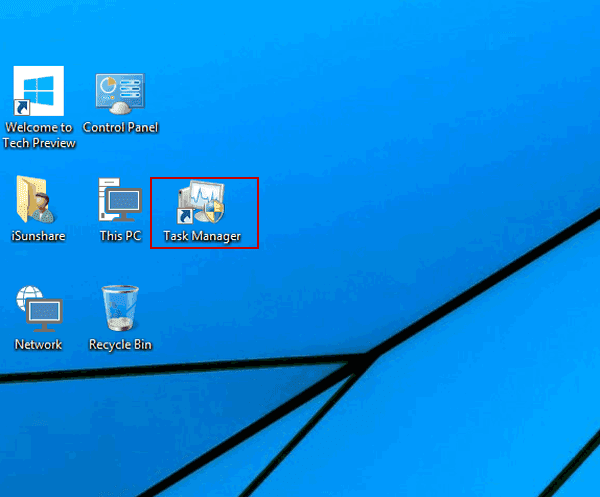how to open task manager windows 10 shortcut