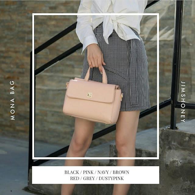 Jims Honey Mona Bag Soft Pink