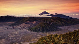 Mount Bromo, a Magnificent Active Volcano in East Java