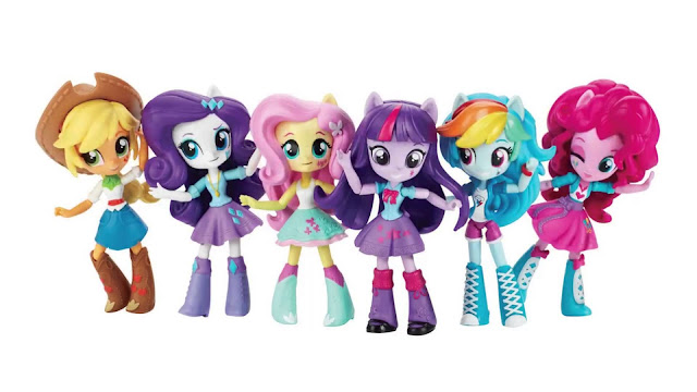 Equestria Girls Mini Goes to the Park and Beach - New Merch Lineups Listed on Amazon