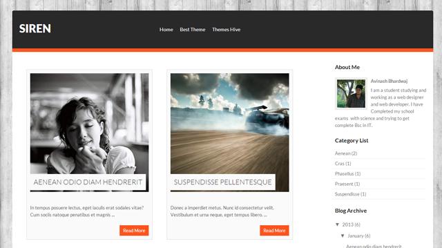 Best List of Free Download Responsive Premium Blogger Templates