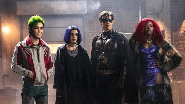 Titanes, Titans, Netflix
