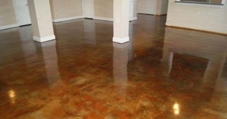 Windy Possibilities Stained Concrete Floors At The New House