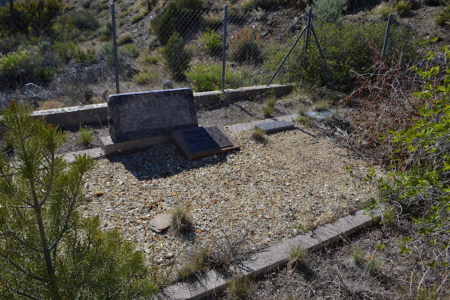 grave stones, closer look